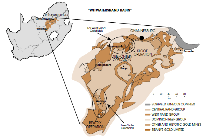 Sibanye's operations [graph]